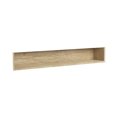 Mirrored Cabinet Display Shelf Insert 1200mm Scandi Oak [191569]