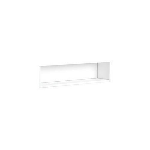 Mirrored Cabinet Display Shelf Insert 750mm Satin White [191536]