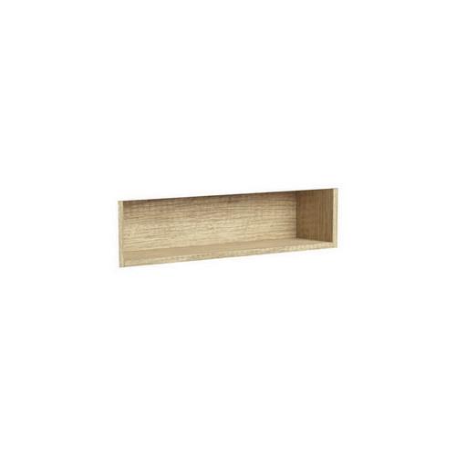 Mirrored Cabinet Display Shelf Insert 750mm Scandi Oak [191537]