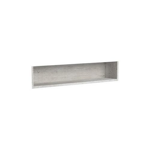 Mirrored Cabinet Display Shelf Insert 900mm Industrial [191550]