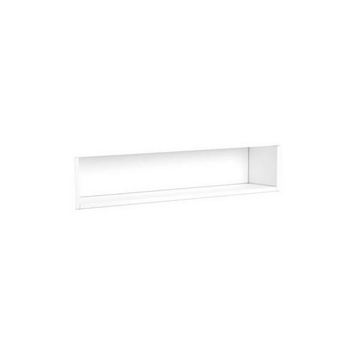 Mirrored Cabinet Display Shelf Insert 900mm Satin White [191552]