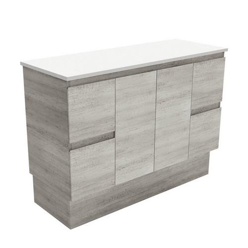 Edge 1200 Industrial Cabinet on Kick Board 2 Door 4 Drawer [180666]