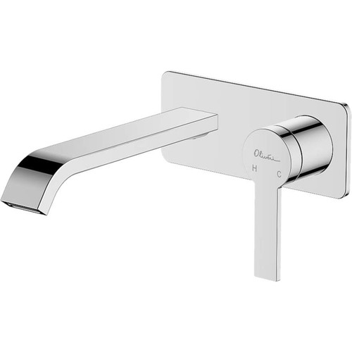 Barcelona Chrome Wall Mixer Set [159625]