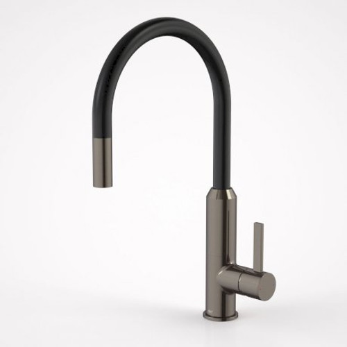 Vixen Retractable Sink Mixer Black Nickel [166482]