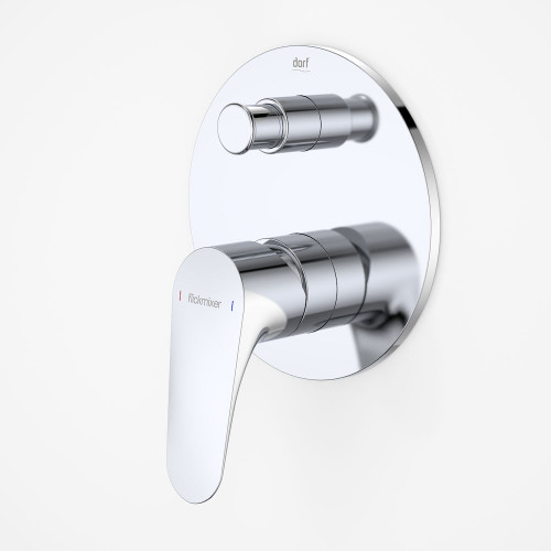 Flickmixer Plus Bath Shower Mixer With Diverter [125987]