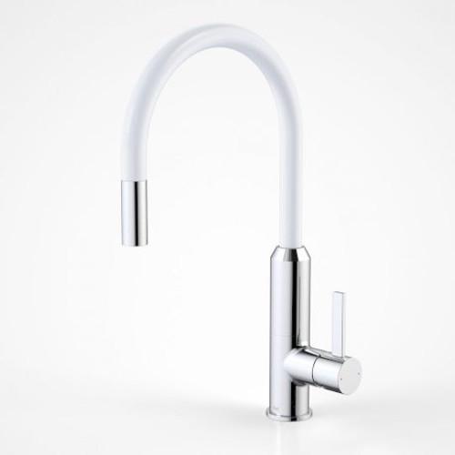Vixen Retractable Sink Mixer White [134650]