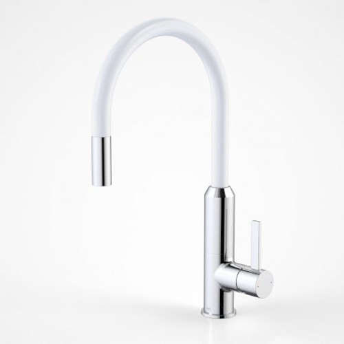 Vixen Retractable Sink Mixer White [134650]