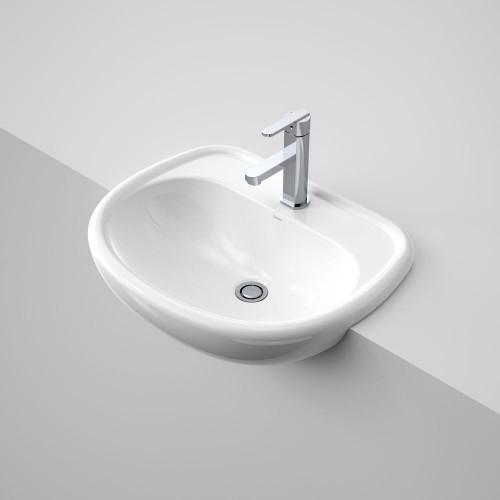 Caravelle 550 Semi Recessed Basin - 1Th [058057]