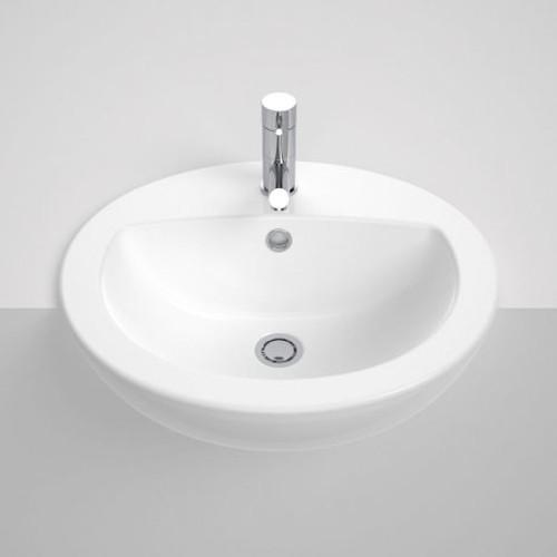 Venecia Semi Recessed Vanity Basin - 1Th [060377]