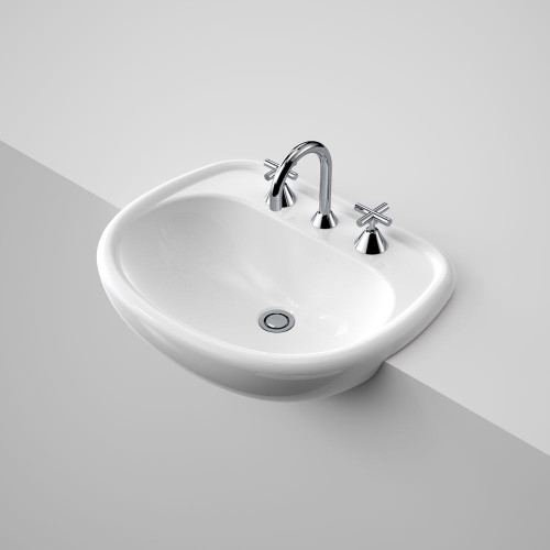Caravelle 550 Semi Recessed Basin - 3Th [058069]