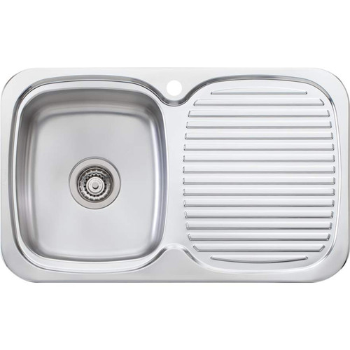 Lakeland Single Bowl Sink With Drainer-1TH [067029]