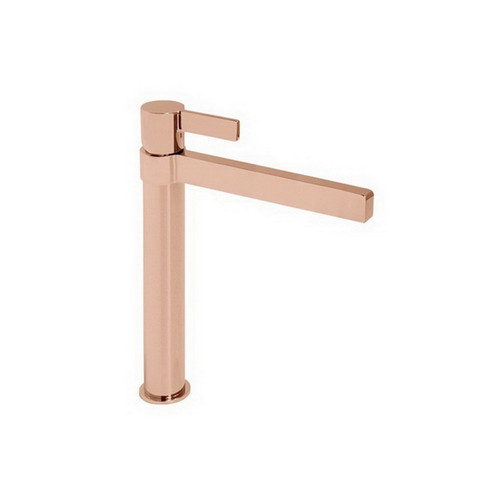 Martini Extended Basin Mixer Polished Rose Gold [155127]