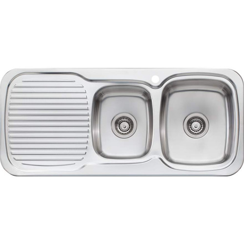 Lakeland 1 & 3/4 Bowl Sink With Drainer-1TH [067042]