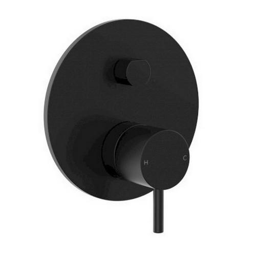 Wall Bath / Shower Mixer Diverter Inwall Body Only Matte Black [156371]