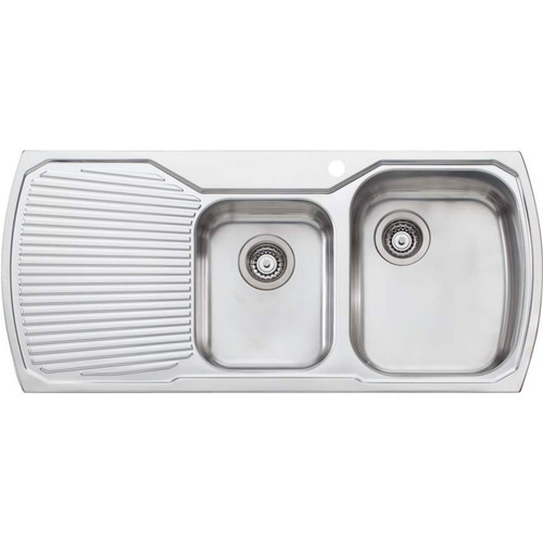 Monet 1 & 3/4 Bowl Topmount Sink With Drainer-1TH [067332]