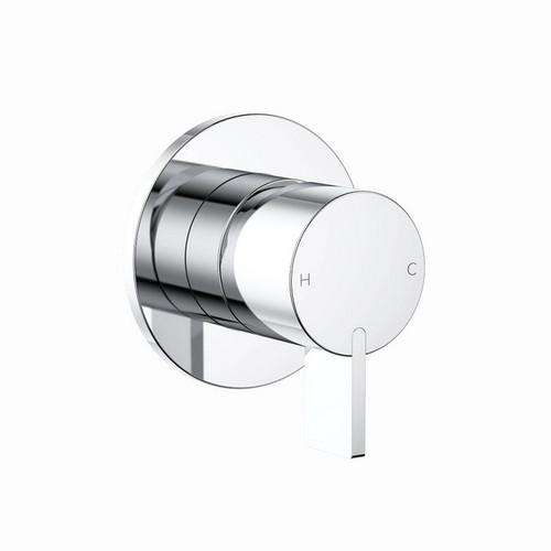 Round Blade Wall Bath / Shower Mixer Chrome [158310]