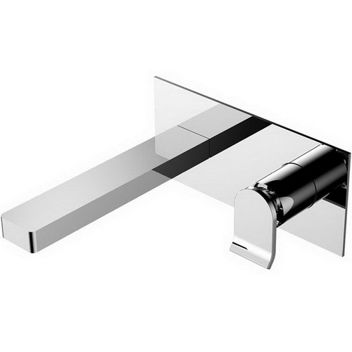 Lincoln Wall Basin Mixer with Spout Chrome [158229]