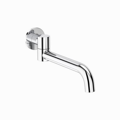 Round Swivel Bath Outlet Chrome [165167]