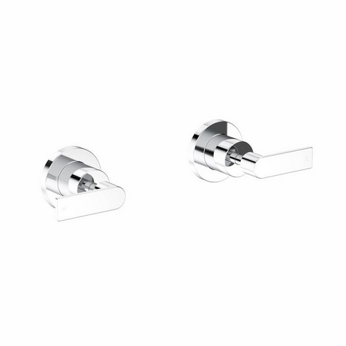 Lever Wall Top Assembly Chrome Pair [165175]