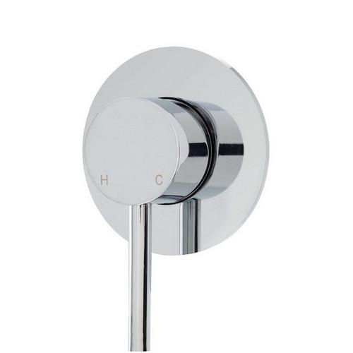 Isabella Wall Bath / Shower Mixer Chrome [165523]