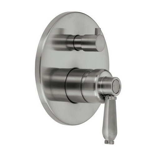 Eleanor Wall Bath / Shower Mixer with Diverter Brushed Nickel [169625]