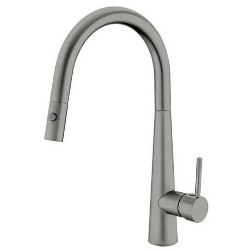 Dolce Sink Mixer with Pull-Out Vegie Spray Function Gun Metal [181358]