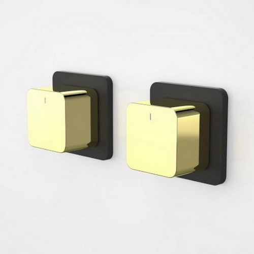Epic Bloc Wall Top Assembly Black/Gold Pair [192488]