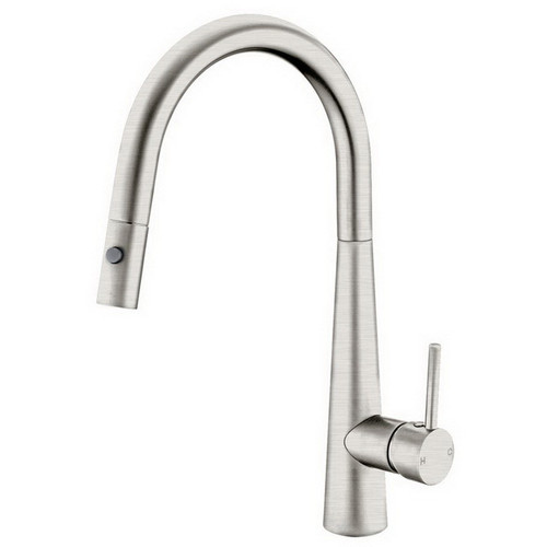 Dolce Sink Mixer with Pull-Out Vegie Spray Function Brushed Nickel [195078]
