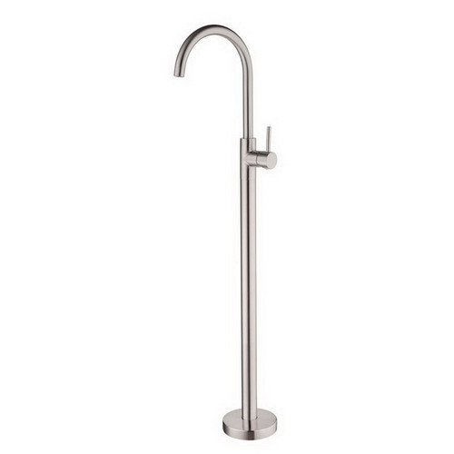 Dolce Free Standing Bath Mixer Brushed Nickel [195186]