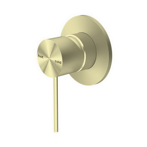 Mecca Bath / Shower Mixer Brushed Gold [194725]