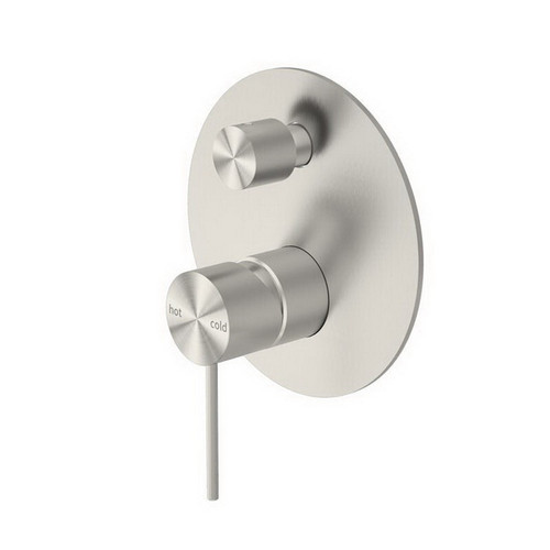 Mecca Bath / Shower Mixer with Diverter Brushed Nickel [194733]