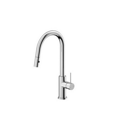 Mecca Sink Mixer with Pull-Out Vegie Spray Function 220mm Chrome [194741]