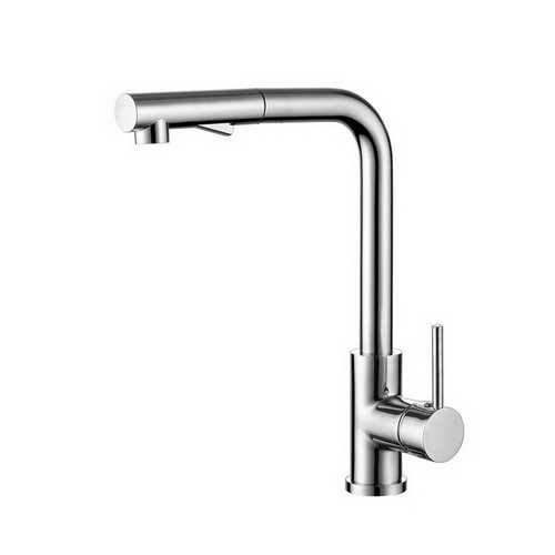 Mecca Sink Mixer with Pull-Out Vegie Spray Function Chrome [195075]