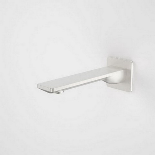 Urbane II Bath / Basin Outlet Square Cover Plate 180mm Brushed Nickel [196279]