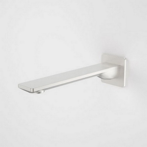 Urbane II Bath / Basin Outlet Square Cover Plate 220mm Brushed Nickel [196289]
