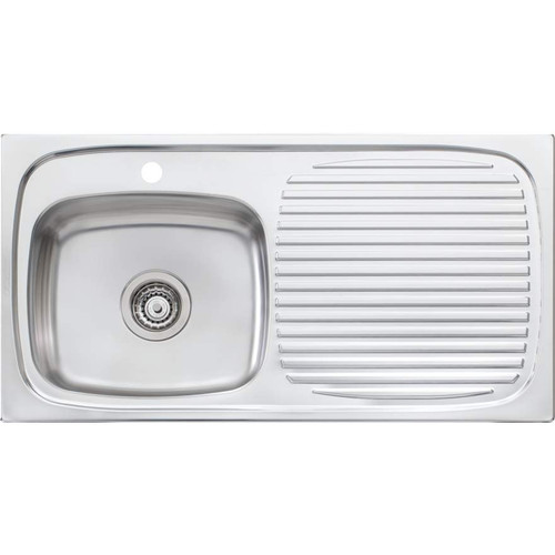 Ultraform Single Bowl Sink With Drainer-1TH [066859]