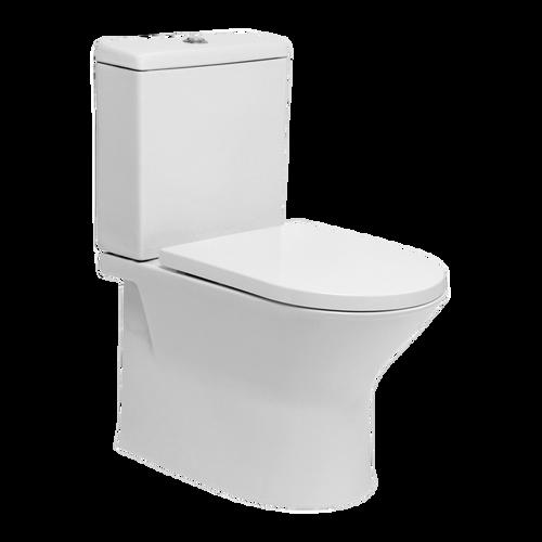 Emilia Rimless Ftw Toilet Suite Incl Sc Urea Seat & Std Cnctr [198867]