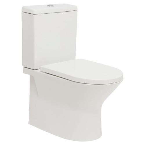 Emilia Rimless Ftw Toilet Suite Incl Sc Pp Seat & Std Cnctr [198868]