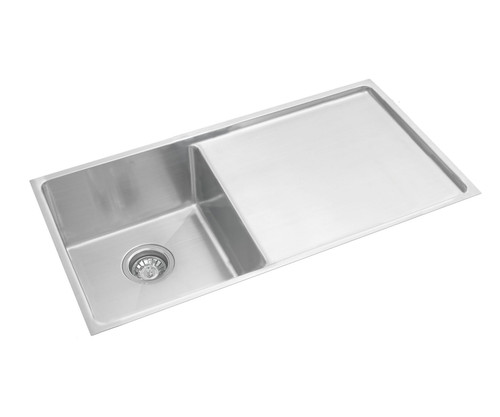 Excellence Squareline Single Bowl & Drainer [254007]