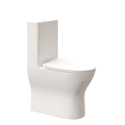 Nugleam Contour Wall Faced Suite - Thin Seat [254030]
