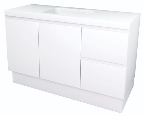 Nugleam 1200 Polymarble Top Vanity [254034]