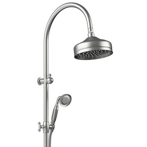 Lillian Twin Shower Brushed Nickel [181042]