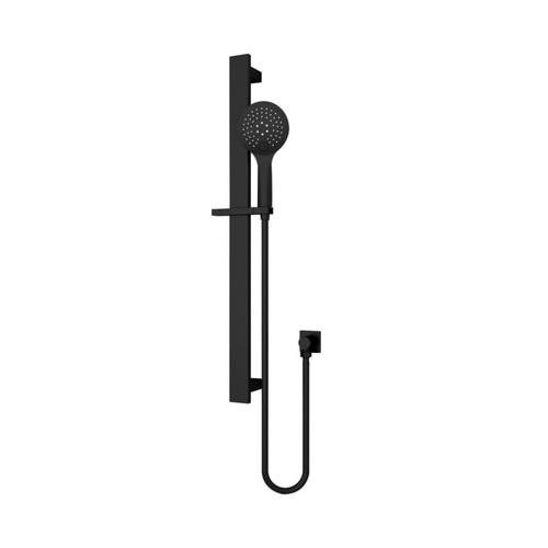 Rain 3 Function Rail Shower Matte Black [195115]