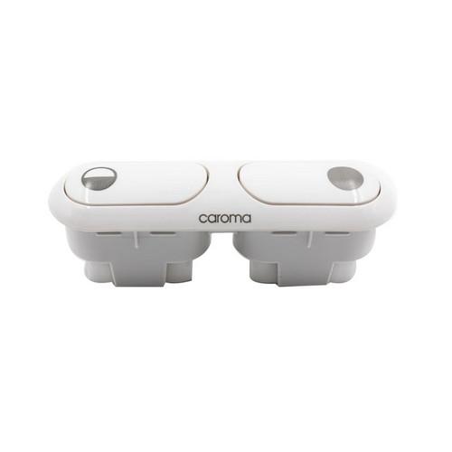 2000 Series Buttons & Bezel White [063389]