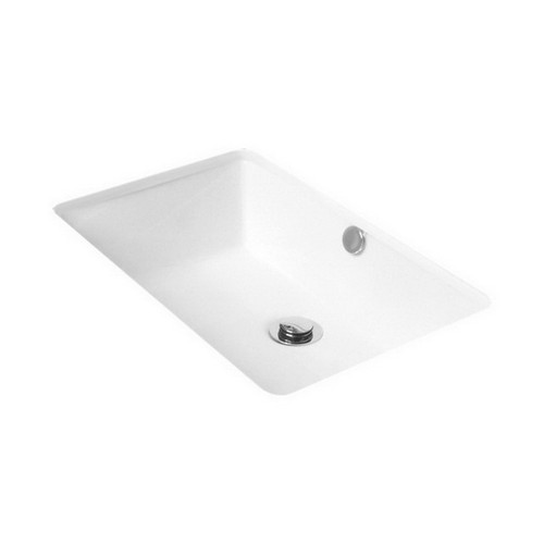 Link Under Counter Basin 540mm x 335mm x 170mm Gloss White [113636]