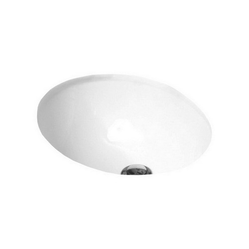 Entice Under Counter Basin 420mm x 350mm x 200mm Gloss White [113638]