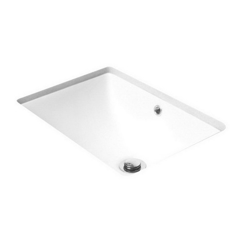 Entice Under Counter Dish Basin 465mm x 350mm x 190mm Gloss White [113639]