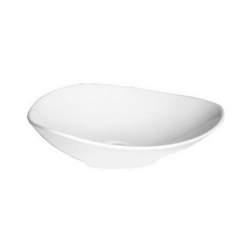Fiore Above Counter Basin 530mm x 420mm x 165mm Gloss White [121532]