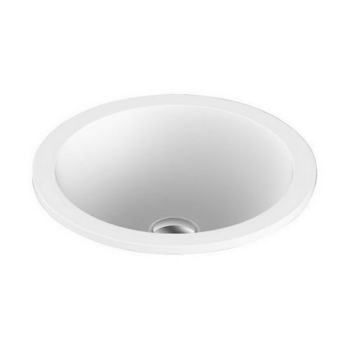 Unity Inset Vanity Basin 395mm x 130mm Matte White [127546]