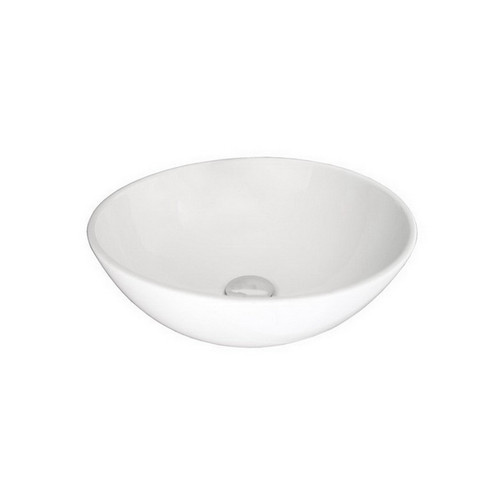Solar Above Counter Basin 400mm x 400mm x 140mm Gloss White [150849]